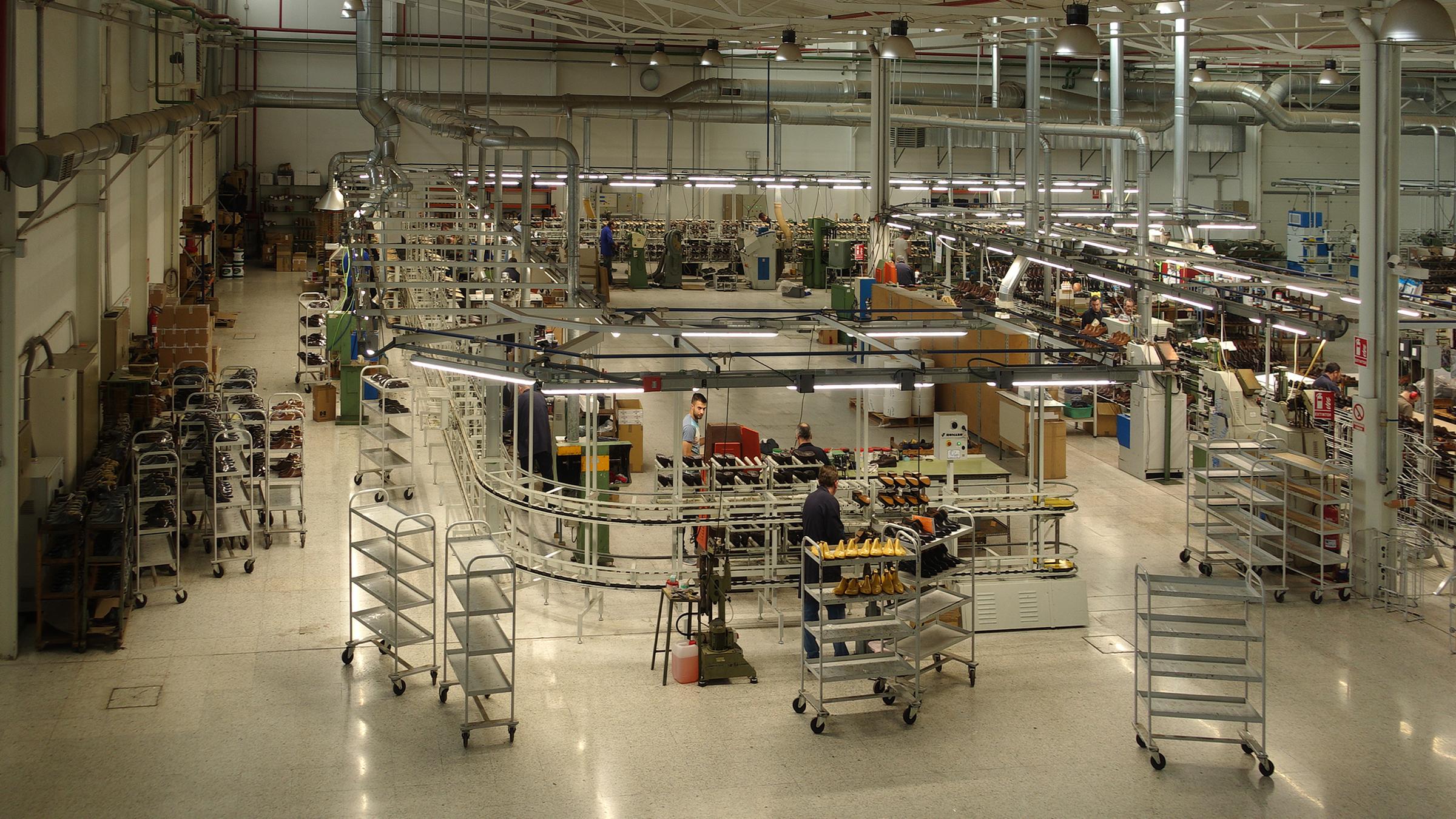 バーウィック グッドイヤーウェルト工場