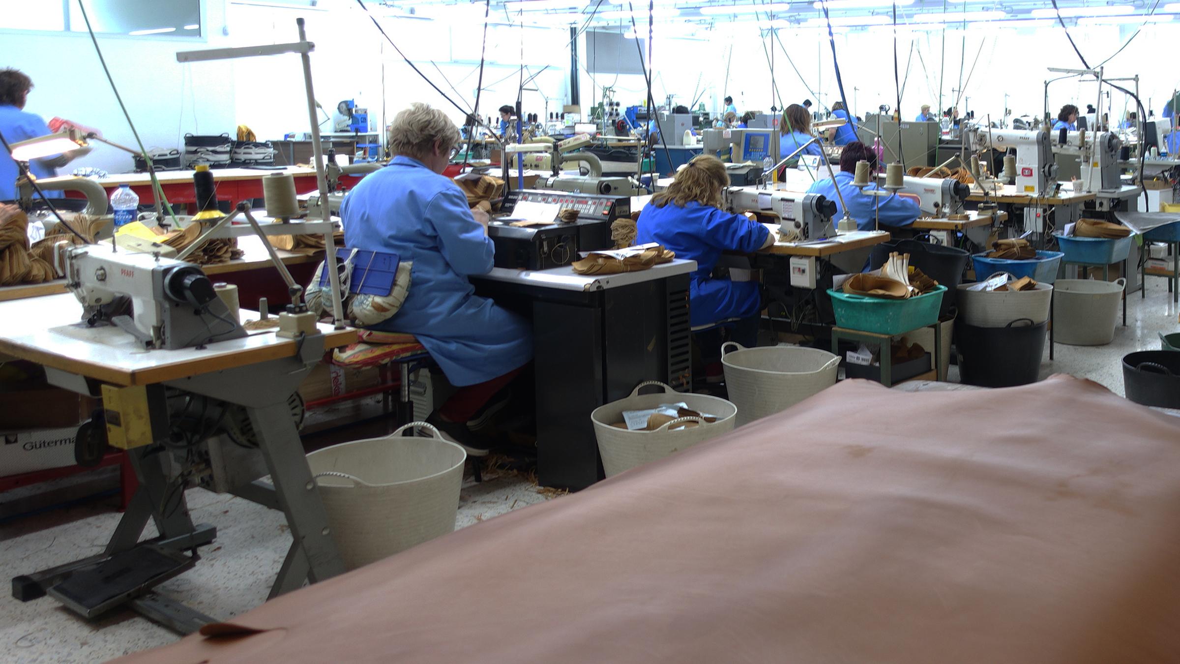 バーウィック アッパー縫製場